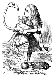 Antonia Bleargh. Political Correspondent. With apologies to John Tenniel